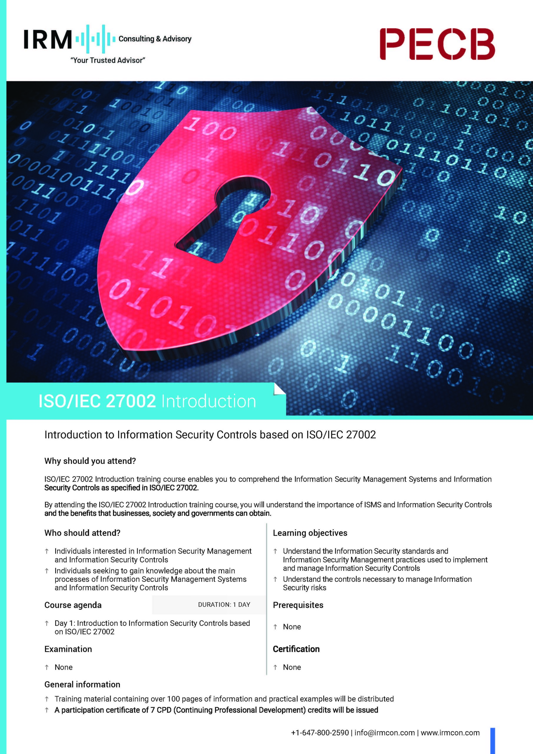 IRM Consulting & Advisory   Your Cybersecurity Trusted Advisor